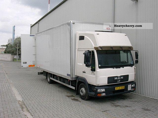 2003 MAN  TEXTILE 9225 Truck over 7.5t Box photo