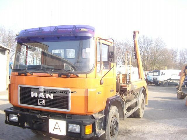 1992 MAN  18 272 Meiller / Tele Truck over 7.5t Dumper truck photo