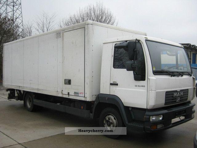 2003 MAN  LE 8140 Truck over 7.5t Box photo