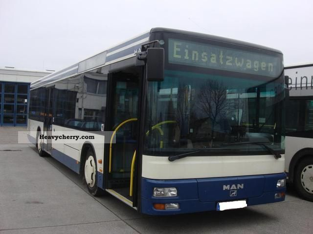 2002 MAN  A 21 Coach Public service vehicle photo