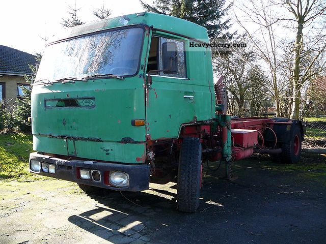 1973 MAN  Bussing BS16U Truck over 7.5t Swap chassis photo