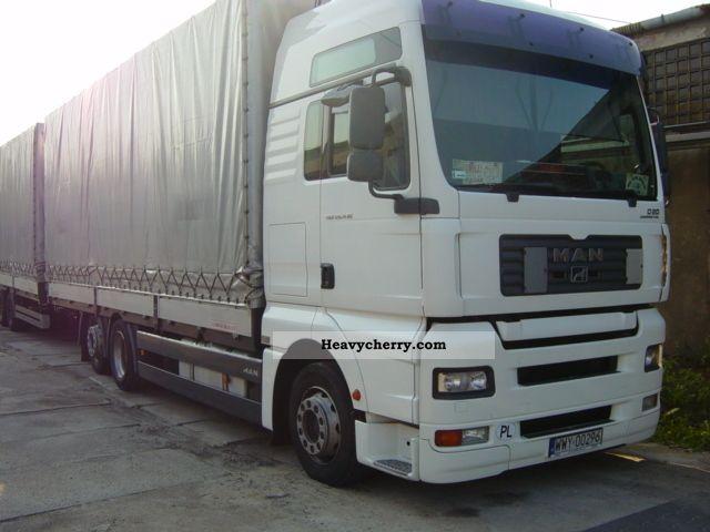 2006 MAN  26.430 XXL + przyczepa SCHWARZMULLER 2006r Truck over 7.5t Jumbo Truck photo