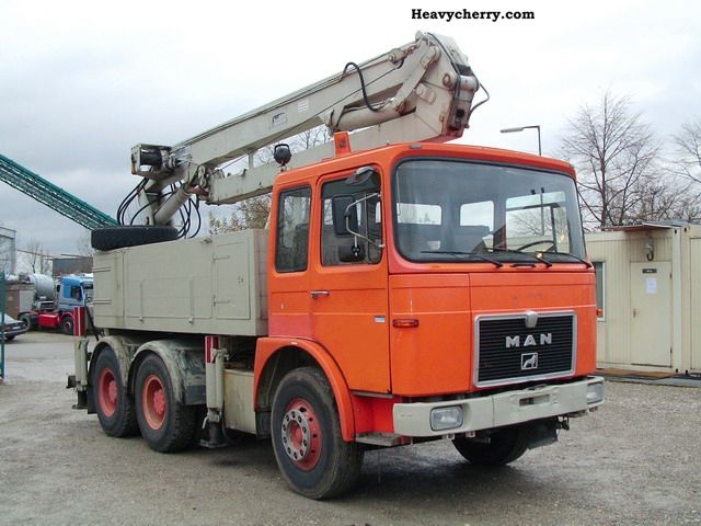 1973 MAN  DFS 26 320 6x4 with crane Truck over 7.5t Other trucks over 7 photo
