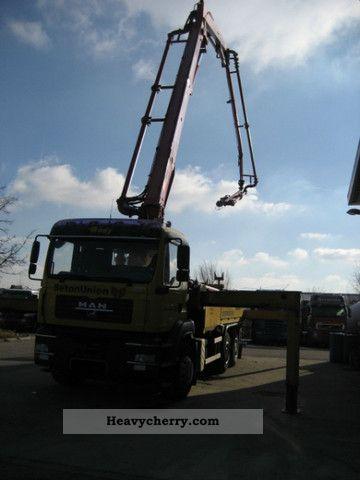 Man Tga 26 430 6x4 Schwing 34 M 2006 Concrete Pump Truck