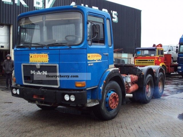 Man 26 321 6x4 6cylinder 1985 Standard Tractor Trailer Unit Photo And Specs