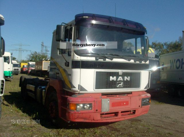 1996 MAN  26 343 Truck over 7.5t Chassis photo