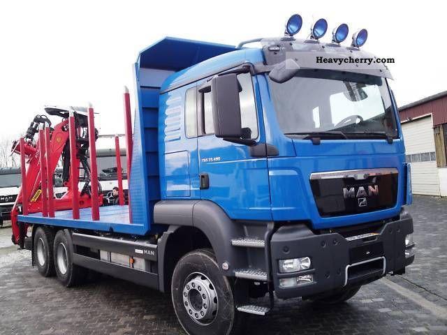 2012 MAN  TGS 33.540 6X4 Plattform.Epsilon M 120.Z EURO5 Truck over 7.5t Timber carrier photo
