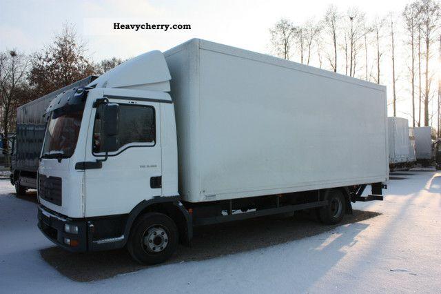2005 MAN  TGL 8.180 IZOTERMA Van or truck up to 7.5t Box-type delivery van photo