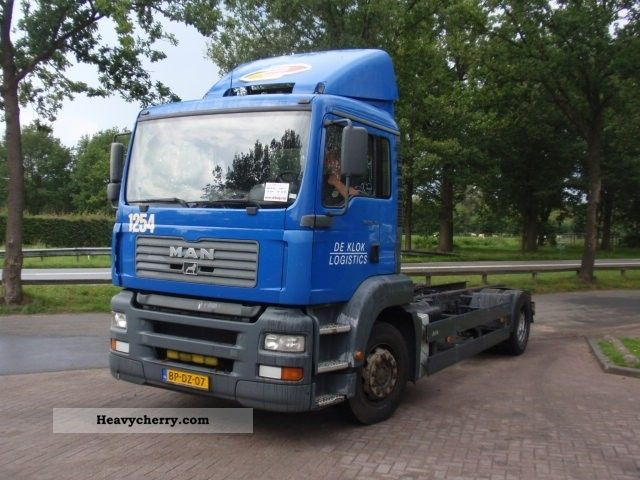 2004 MAN  18-310 CHASSIS CABINE Truck over 7.5t Chassis photo