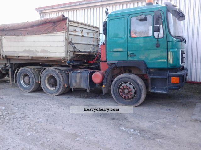 1994 MAN  26-422 Semi-trailer truck Standard tractor/trailer unit photo