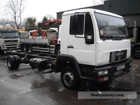 2002 MAN  8155 Chassis RHD Truck over 7.5t Chassis photo