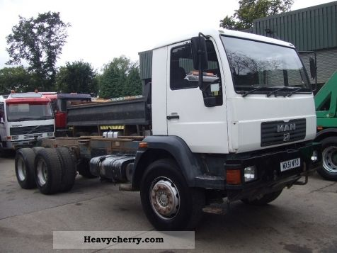 2001 MAN  26 284 6x4 chassis RHD Truck over 7.5t Chassis photo