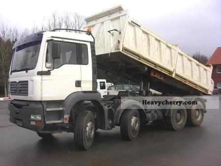 2003 MAN  TGA / FK 35 410 8x4 Truck over 7.5t Three-sided Tipper photo