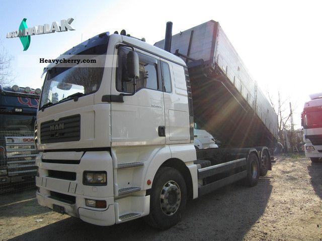 2002 MAN  TGA 26.460 6x2 tippers XL Air Retarder Truck over 7.5t Tipper photo