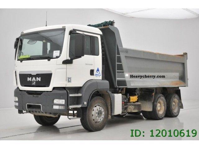 2009 MAN  TGS 33-360 Truck over 7.5t Tipper photo