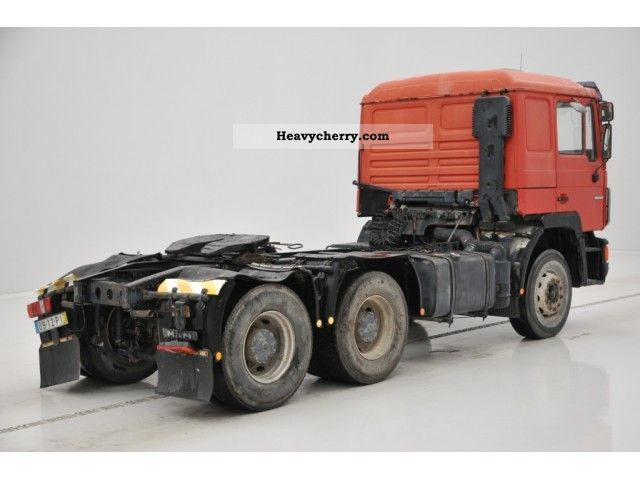 Man 25 502 1991 Standard Tractor Trailer Unit Photo And Specs