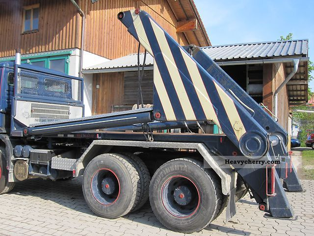 1990 MAN  WELAKI type 318-T Absetzeraufbau Truck over 7.5t Dumper truck photo