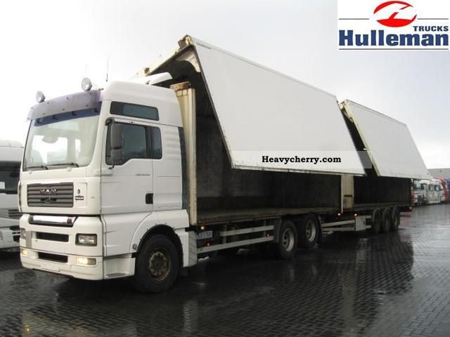 2005 MAN  TGA 28.530 XXL 6X2 MANUEL RETARDER Truck over 7.5t Timber carrier photo