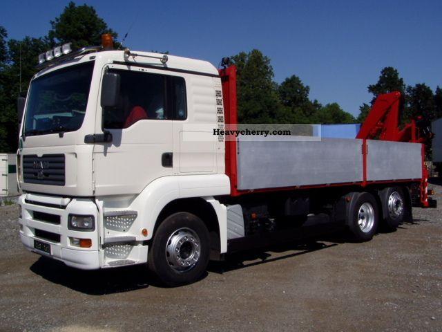 2005 MAN  26.430, CRANE FASSI150A24 Remote Truck over 7.5t Truck-mounted crane photo