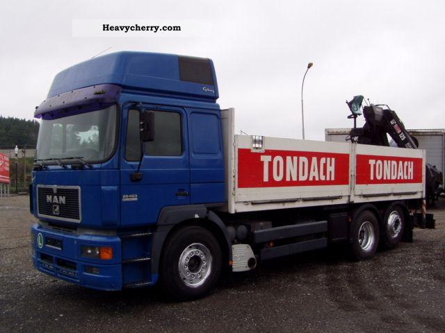 1998 MAN  26.403, Hiab 125 rotator Truck over 7.5t Truck-mounted crane photo