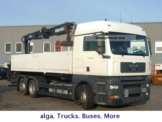 2007 MAN  Atlas 26 400 6x2 truck building materials 140.1 Truck over 7.5t Stake body photo