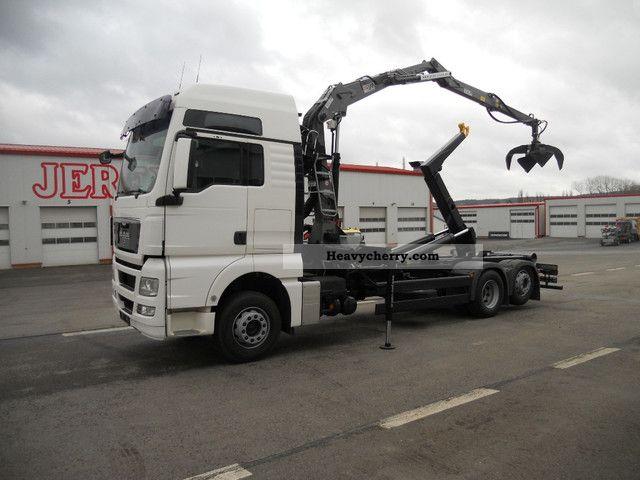 2008 MAN  26 440 TGX, cranes for scrap PENZ 10Z7.7, roll Truck over 7.5t Truck-mounted crane photo