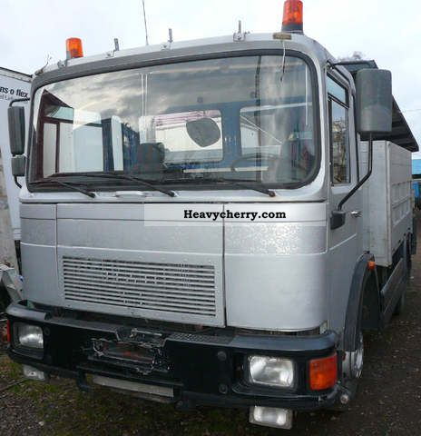 1985 MAN  14 192 Truck over 7.5t Stake body photo