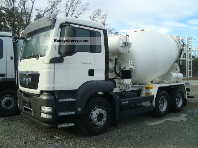 2010 MAN  26 360 NEW INTERMIX 7 m3 Truck over 7.5t Cement mixer photo