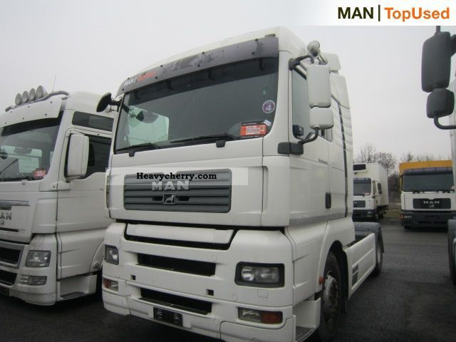 Man Tga 18 440 4x2 Bls 2007 Hazardous Load Semi Trailer