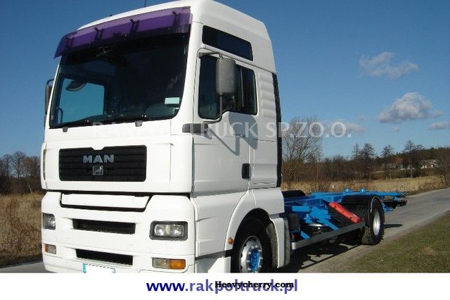 2003 MAN  TGA 18.410 BDF manual, retarder Truck over 7.5t Swap chassis photo