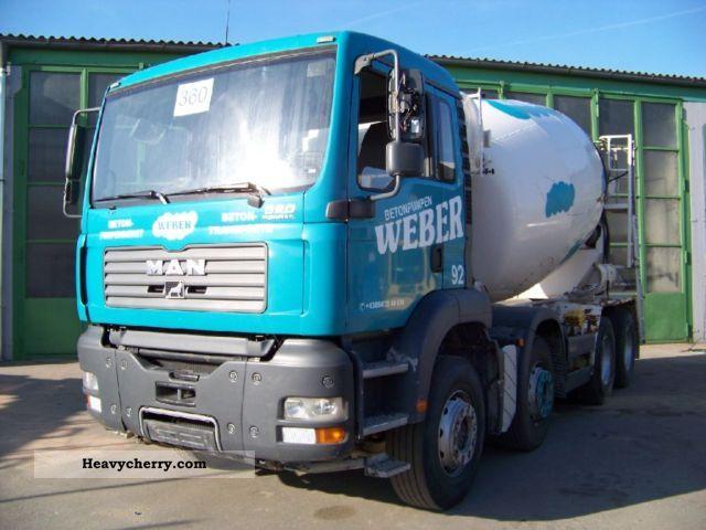 2006 MAN  TGA 35.350 8x4 BB - INTERMIX 10 m³ - Concrete Truck over 7.5t Cement mixer photo
