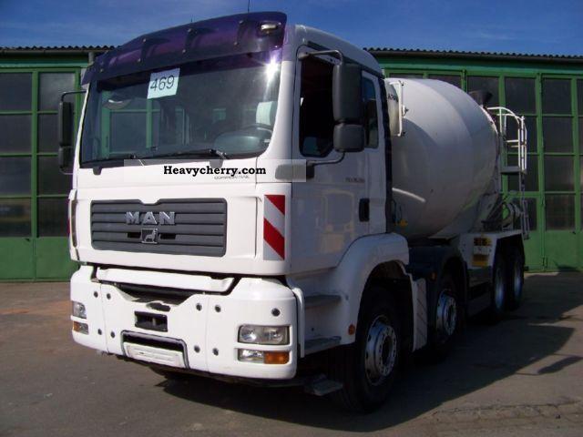 2005 MAN  TGA 35.390 8x4 BB - KARRENA 10 m³ - Concrete Truck over 7.5t Cement mixer photo
