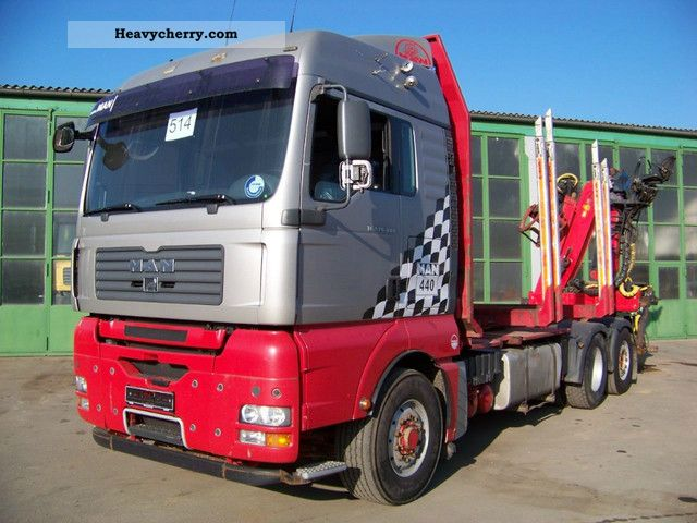 2007 MAN  TGA 26.440 6x4H BL-2 - CUT-EPSILON E140Z Truck over 7.5t Timber carrier photo