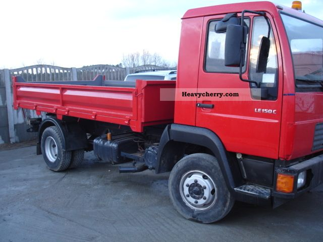 2003 MAN  LE 8P150 C TIPPER WYWROTKA Truck over 7.5t Tipper photo