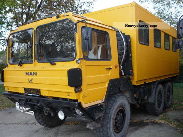 man kat 6x6 wheel drive lx 90 x41 bus 1993 other trucks. Black Bedroom Furniture Sets. Home Design Ideas