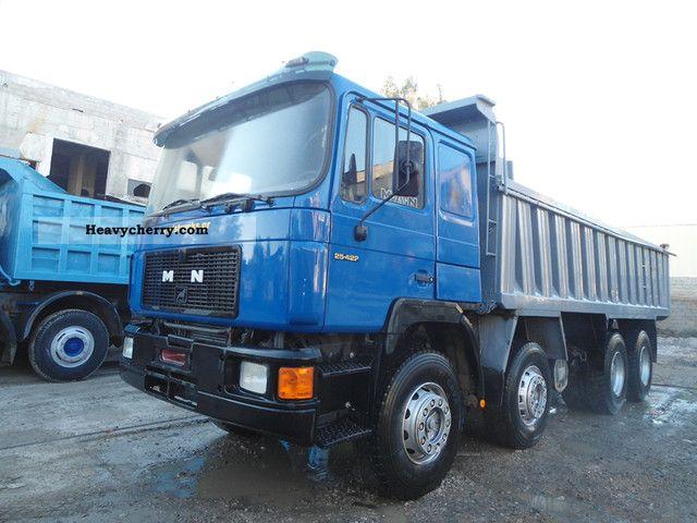 1992 MAN  35 422 (8x4) truck Truck over 7.5t Tipper photo