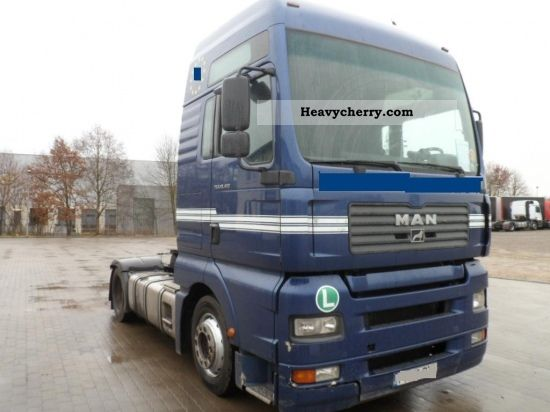 2004 MAN  TGA 18.410, XXL, LOW DECK Semi-trailer truck Volume trailer photo