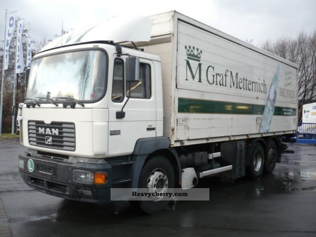 1996 MAN  26.403 FNLC (hitch air suspension) Truck over 7.5t Beverage photo