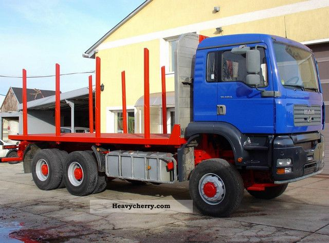 2003 MAN  33 480 6X6 Truck over 7.5t Timber carrier photo