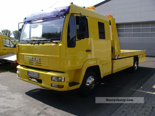2003 MAN  LE 8185 Doka - air - air shaft Truck over 7.5t Breakdown truck photo