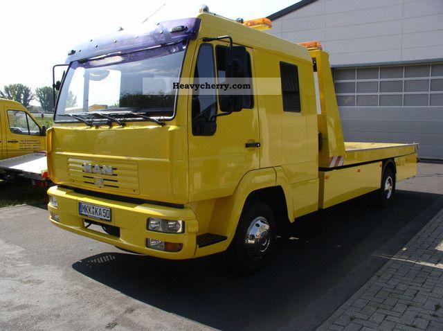 2003 MAN  LE 8185 Doka - air - air shaft Van or truck up to 7.5t Breakdown truck photo