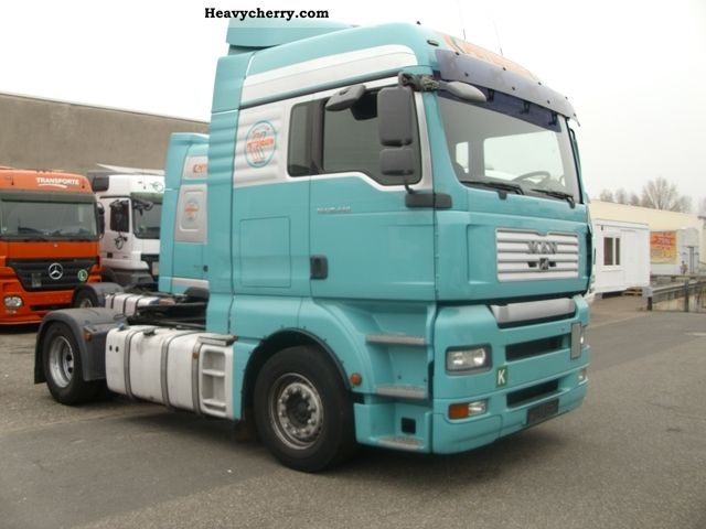 Tractor Trailer Units : Man tga standard tractor trailer unit photo and specs