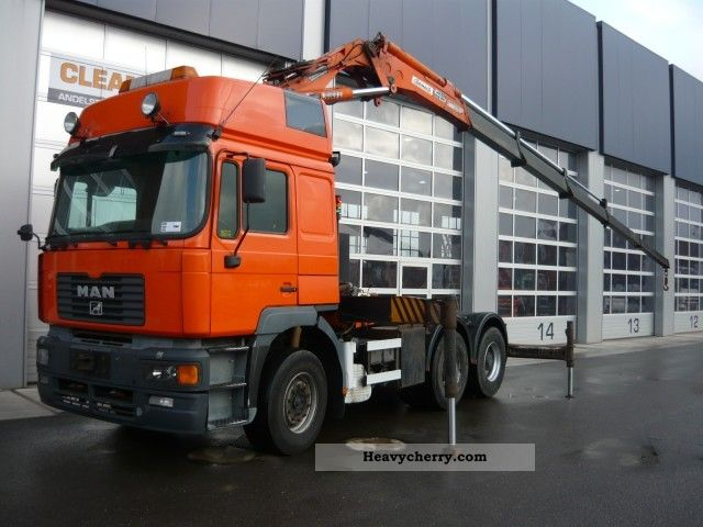 2001 MAN  Cormach 30 000 26 464 6x4 Semi-trailer truck Standard tractor/trailer unit photo