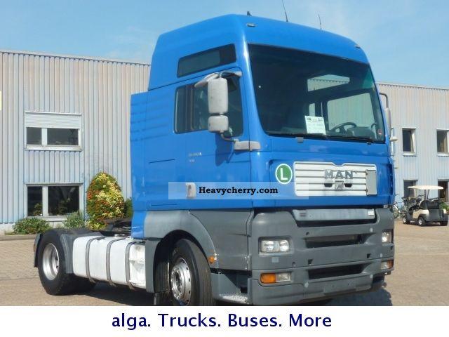 2000 MAN  TGA 18.410 XXL, air, intarder Semi-trailer truck Standard tractor/trailer unit photo