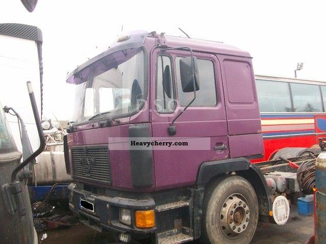 1994 MAN  F 06 25-422 Semi-trailer truck Standard tractor/trailer unit photo