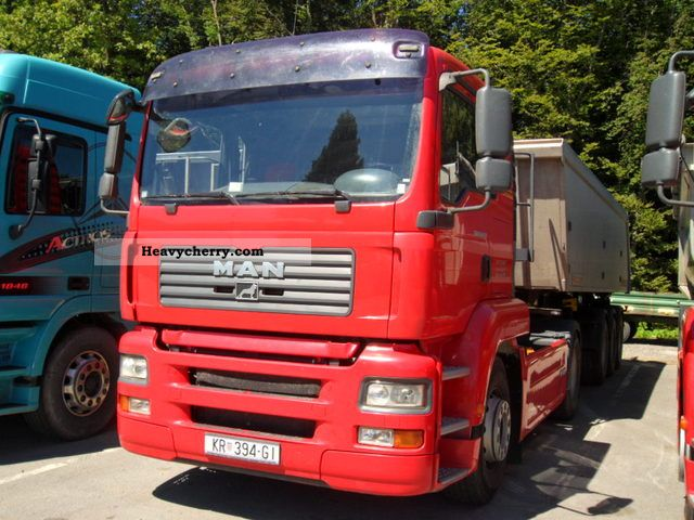 2008 MAN  18 430 WITH KIPPHYDRAULIK, 2 AVAILABLE Semi-trailer truck Standard tractor/trailer unit photo