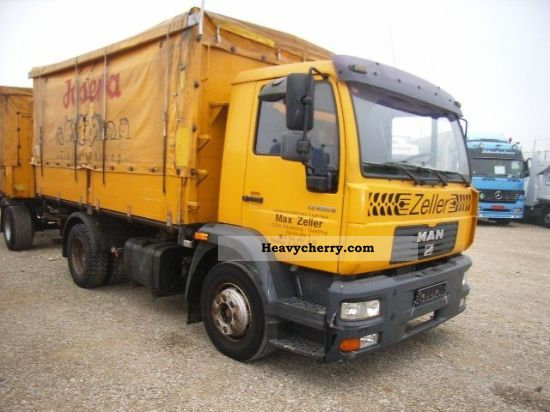 2001 MAN  LE 280 B 14 285 K (L75) GRAIN TRUCK Truck over 7.5t Tipper photo
