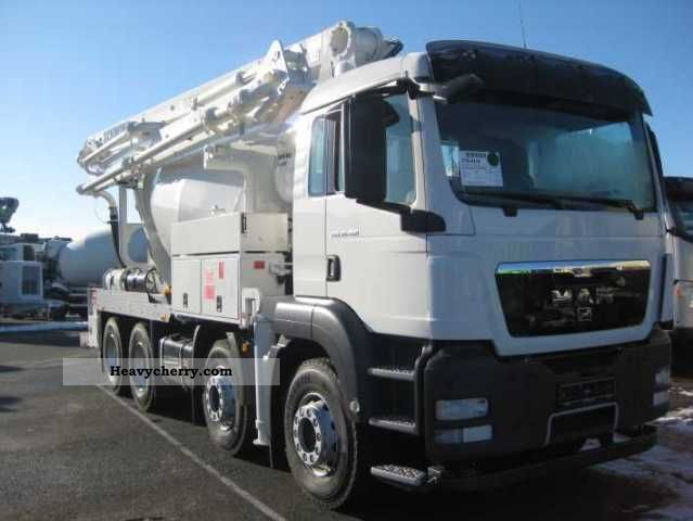 2010 MAN  TGS 35.400 FAHRMI.-BETONP.-Stett-pumi AM7FHC 24 + Truck over 7.5t Concrete Pump photo