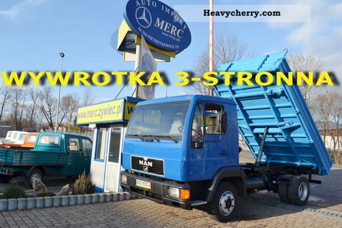 1994 MAN  Wywrotka 10 163 3 - STRONNA - 31/11 Van or truck up to 7.5t Tipper photo