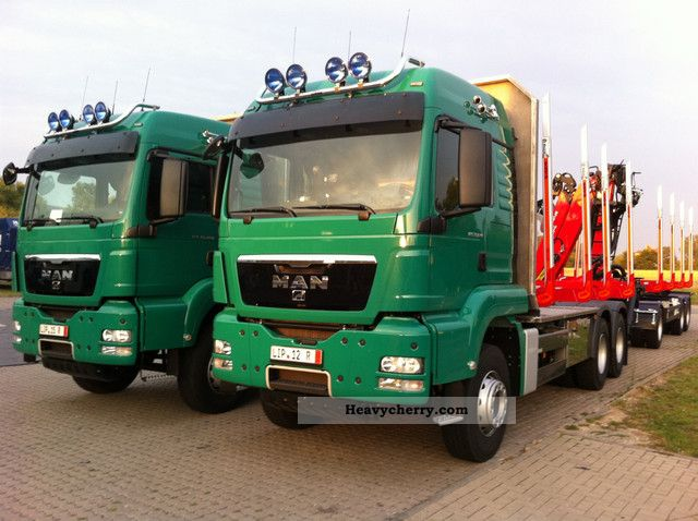 2012 MAN  TGS 33 540 6x4 crane stool + EURO 5 Intar. Truck over 7.5t Timber carrier photo